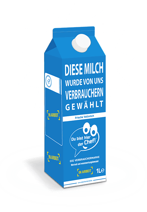 Milchpackung